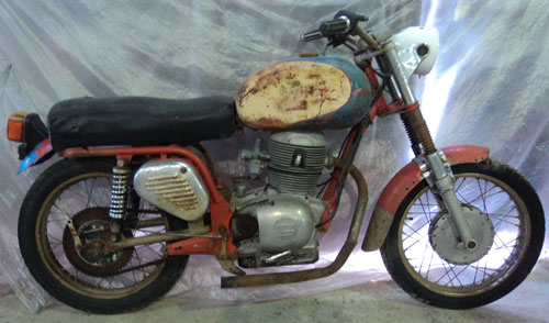 Motorcycle Gilera 1963 Extra