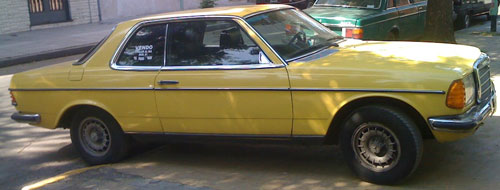 Car Mercedes Benz 230 CE