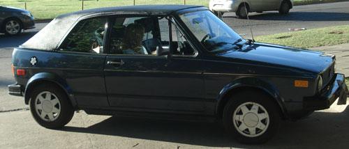 Car Volkswagen Golf Karman Cabriolet