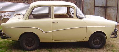 Auto Isard T700 1961