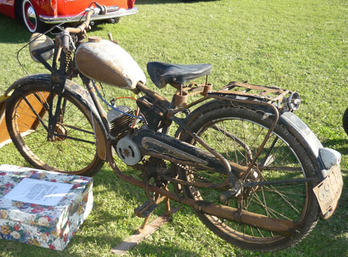 Motorcycle Puma 98 Primera Serie 1956