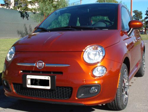 Car Fiat 500 Sport