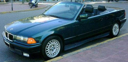 Car BMW 325 I Coupé Convertible