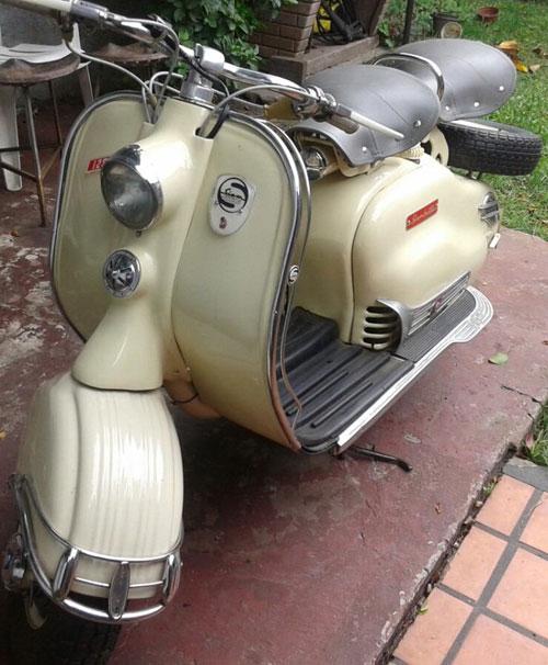 Motorcycle Siambretta LD