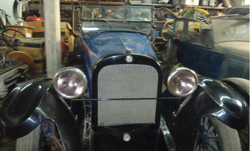 Auto Dodge Brothers Double Phaeton