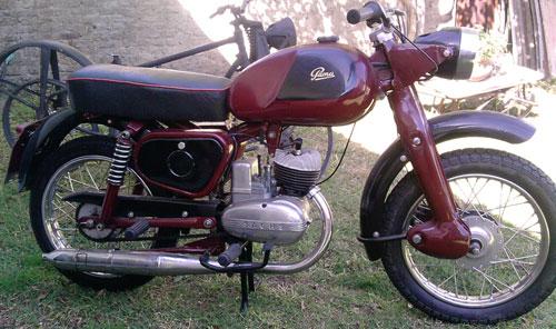 Motorcycle Puma 4ta. Serie 1959