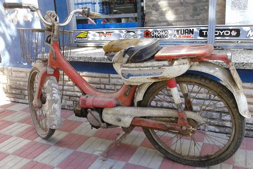 Motorcycle Honda PC50 Corvex