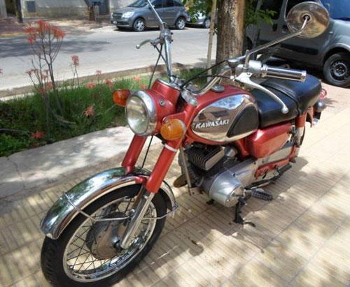 Motorcycle Kawasaki KC 125