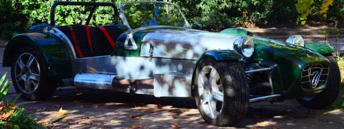 Car Lotus Seven 1982