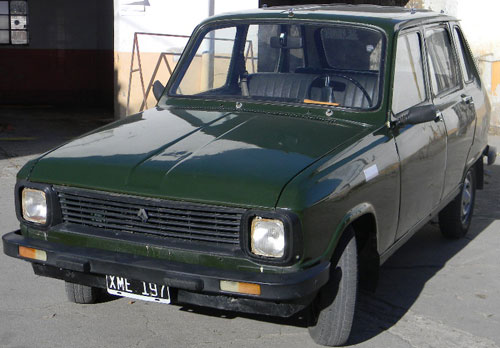Auto Renault 6 GTL
