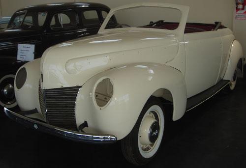 Car Mercury Cabriolet 1939