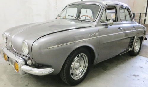 Car Renault Gordini 850