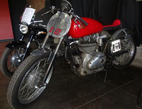 Motorcycle Gilera 500 Saturno