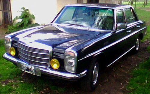 Car Mercedes Benz 240D 3.0 1976