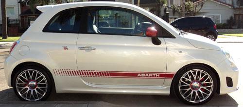 Auto Abarth 500