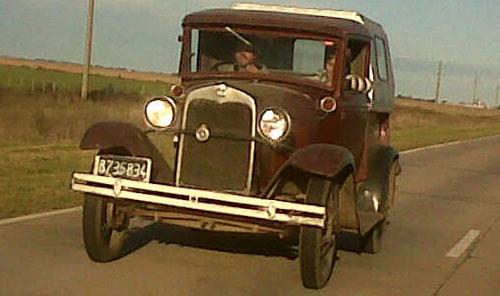 Car Ford A 1929