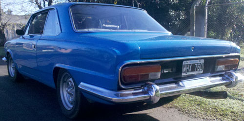 Auto Renault Torino TS