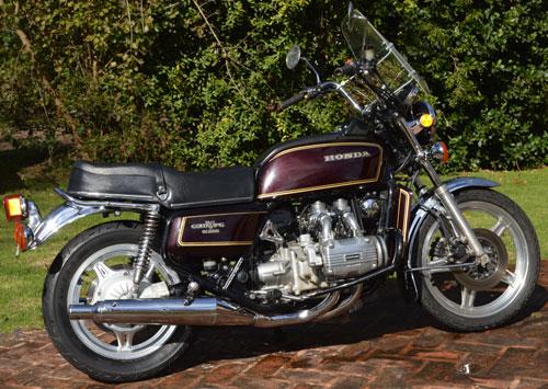 Moto Honda Goldwing GL1000 1978