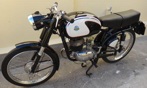 Moto Zanella Cecato 125