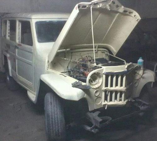 Auto Estanciera 1961