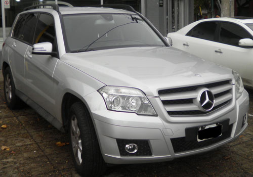 Car Mercedes Benz GLK 300 4 Matic City 2010