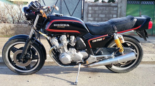 Moto Honda CB 750F Supersport
