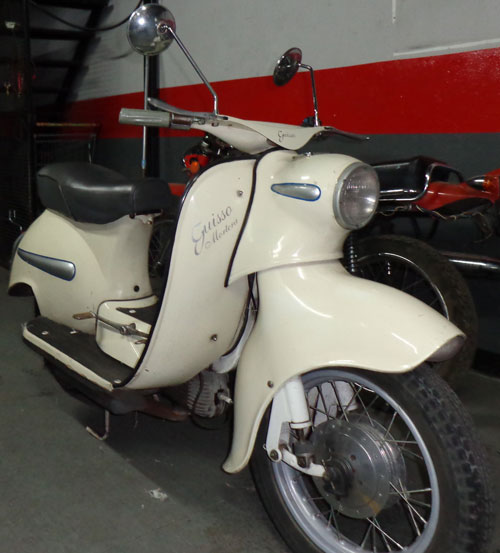 Motorcycle Guizzo Mortera