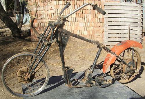 Motorcycle BSA M20