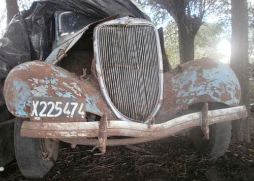 Car Ford B 1934