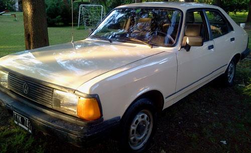 Car Volkswagen 1987