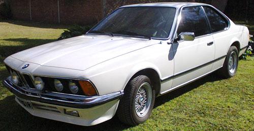 Car BMW 635 CSI 1980