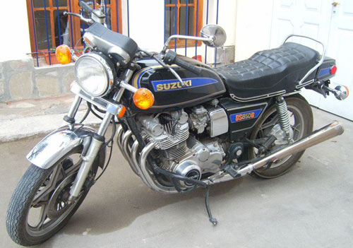 Moto Suzuki GS850G