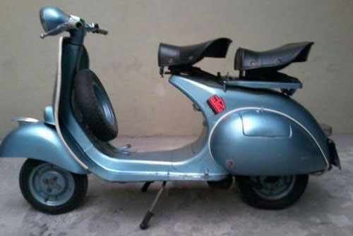 Motorcycle Vespa VB1 1958