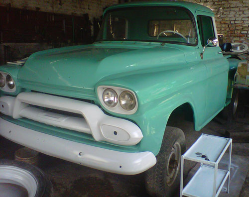 Car GMC 1958