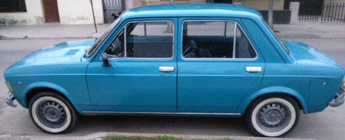 Auto Fiat 1976