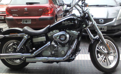 Car Harley Davidson Dyna FXDC