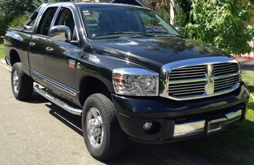 Car Dodge RAM Laramie 2007