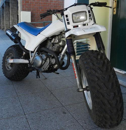 Moto Yamaha BW200
