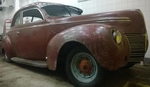 Car Mercury Coupé 1939