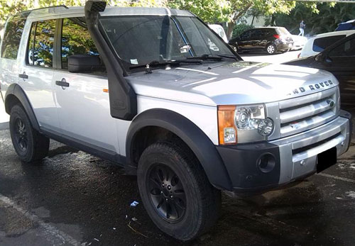 Car Land Rover Discovery 3+