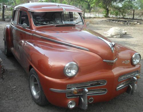 Car De Soto Custom 1947