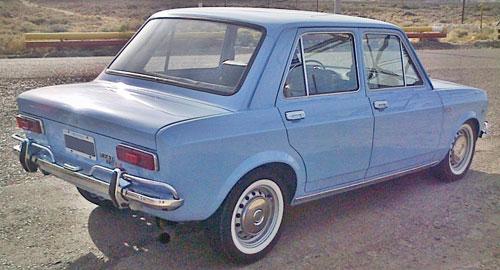 Car Fiat 128 L