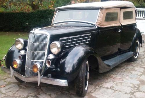 Car Ford V8 1935 Phaeton