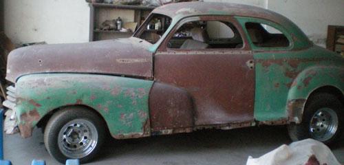 Car Chevrolet Coupé 1947