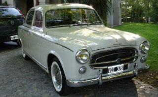 Car Peugeot 403