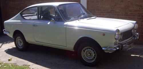 Car Fiat 1600 Sport