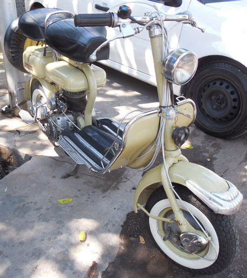 Motorcycle Siambretta STD 1960