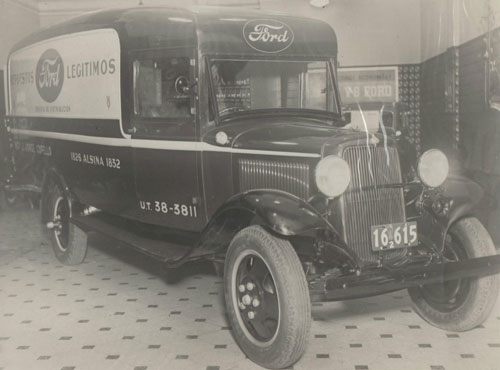 Auto Ford B 1932