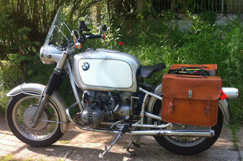 Motorcycle BMW R50/2