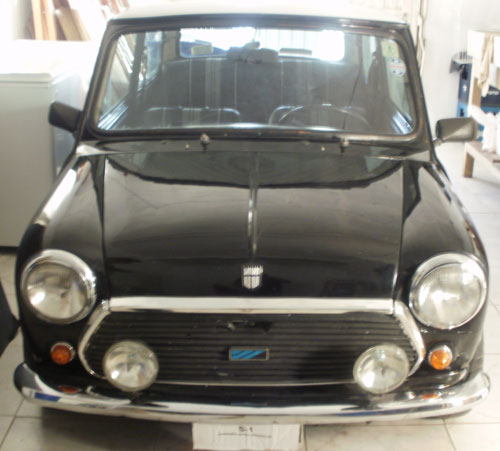 Auto Mini Cooper 1981
